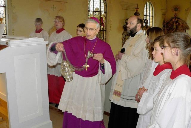 Orgel hat nun den kirchlichen Segen