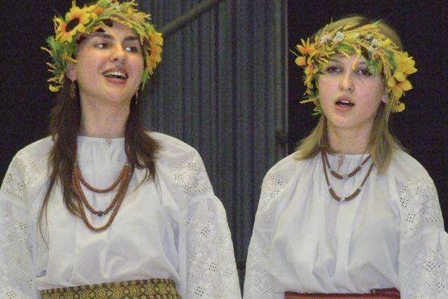 Freunde aus Ost und West feiern mit Musik