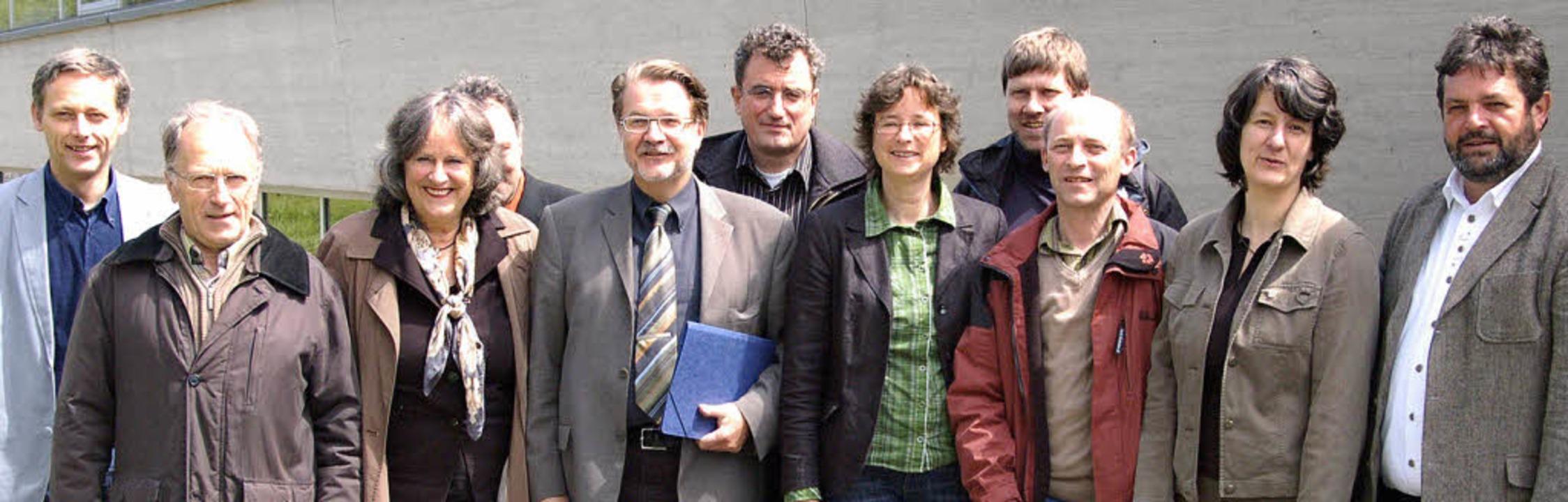 Die Grünen-Landtagsabgeordneten Reinho...ände über Fragen des Umweltschutzes.    | Foto: SENF