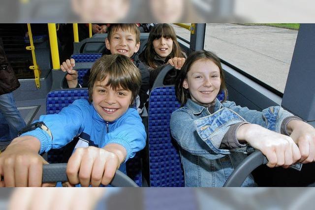 Ein Bus-Knigge für Schüler