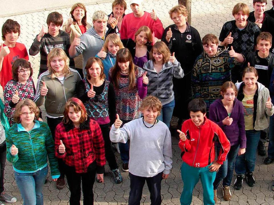Die Gruppe aus Unadingen besteht aus 30 Ministranten.  | Foto: Christa Maier