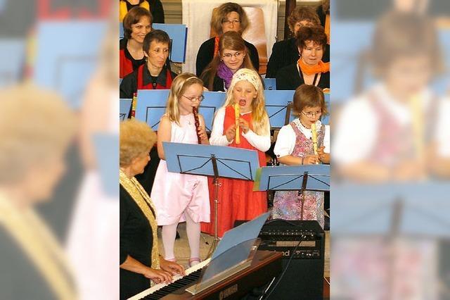 Flötenmusik zum Muttertag