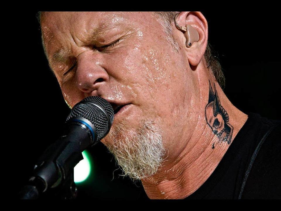 James Hetfield – der Mann, die Wut und die Liebe.  | Foto: Lucia Reck