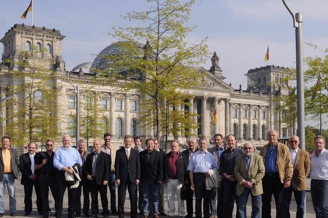 Zu Besuch in Berlin