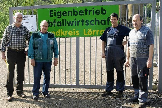Annahmeplatz für Grünabfall eröffnet