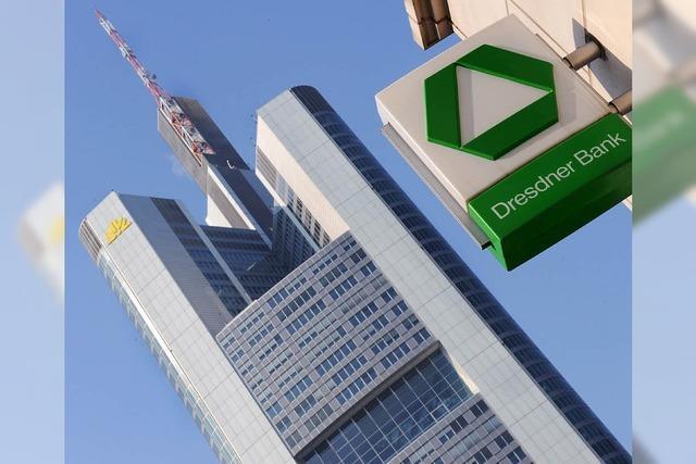 Von der Dresdner Bank bleibt nur die Farbe – bis 2010