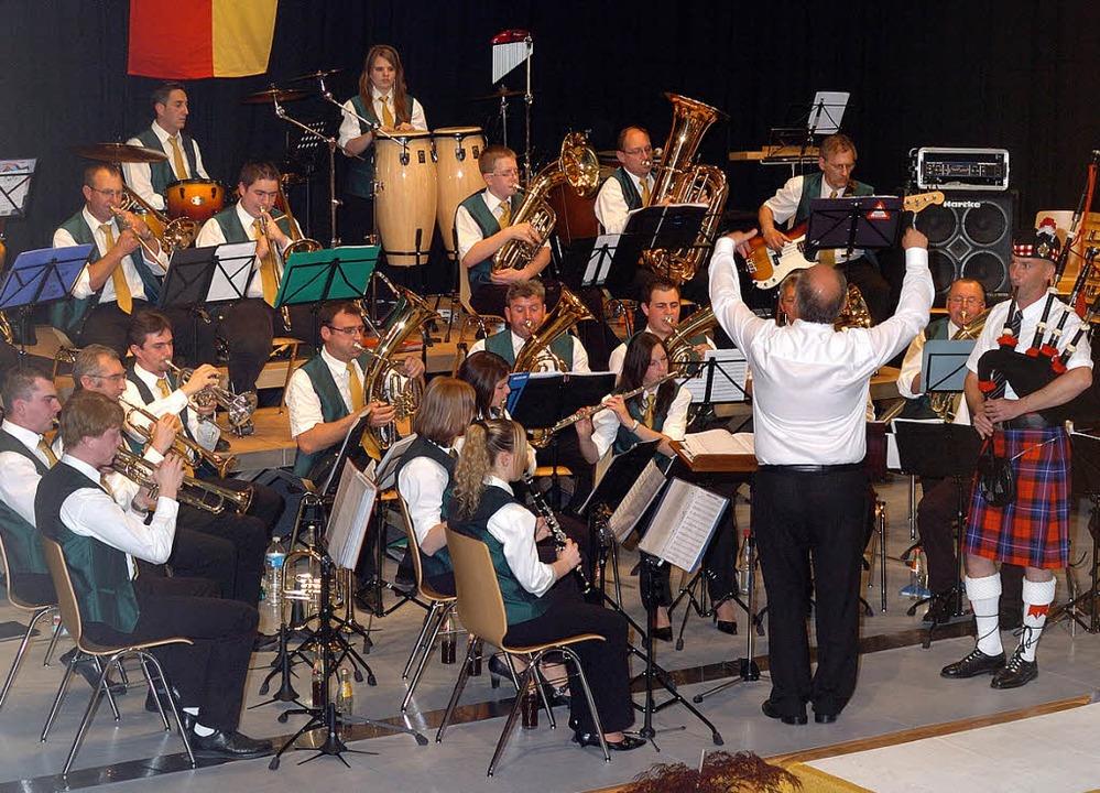 Musik aus Munchhausen  vor dem Zusammenspiel.  | Foto: Jürgen Schweizer