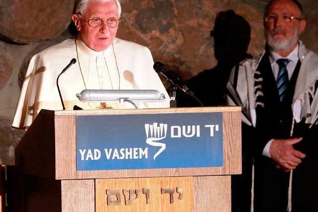 Papst kritisiert Holocaust-Leugner