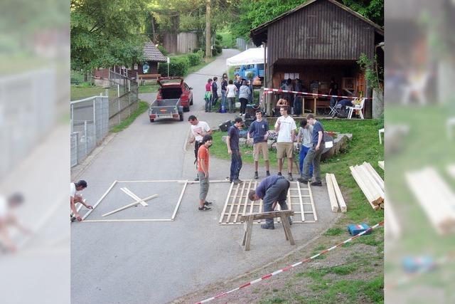 72-STUNDEN-AKTION: Attraktiveres Gehege für die Hirsche