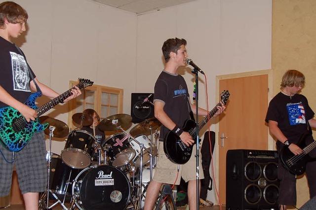 Rock im Doppelpack zum Abschluss