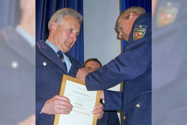 Seit 40 Jahren bei der Feuerwehr