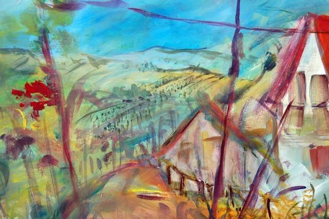 Malerische Begegnungen am Läufelberg