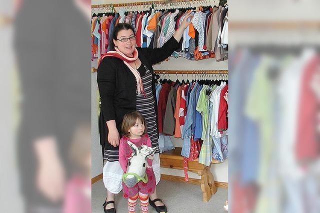 Kinderkleider in allen Farben
