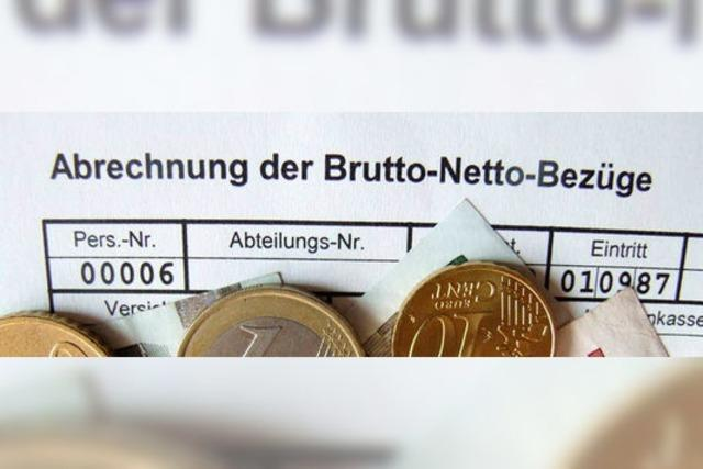 Deutschland belastet kleine Löhne stark