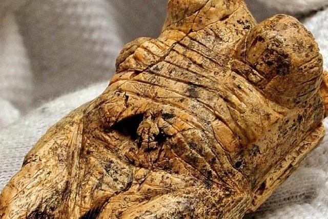 Eine Frau von 40 000 Jahren