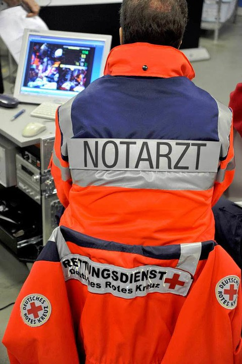 Die Freiburger Notärzte erreichen bei den Hilfsfristen die besten Werte im Land.  | Foto: Thomas Kunz