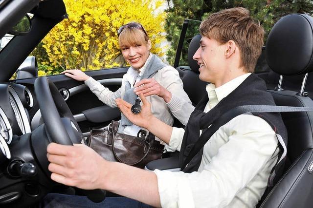 Freiheitsgefühl mit Beifahrer