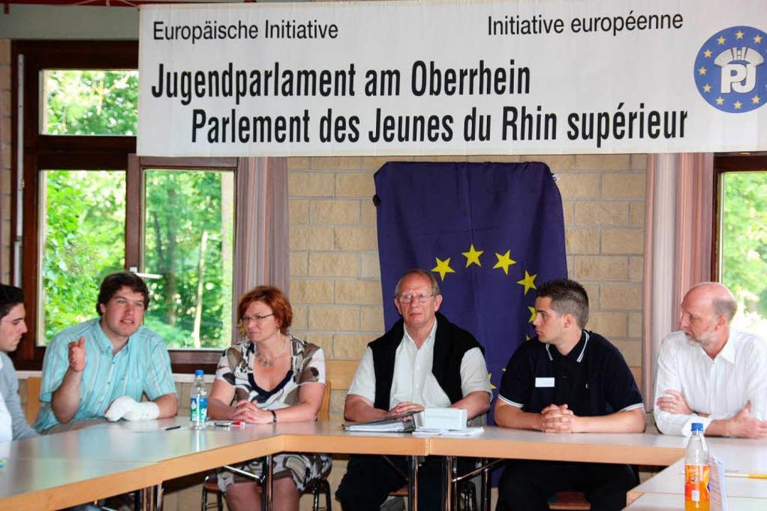 Das Jugendparlament am Oberrhein tagte... wie es mit Europa weitergehen soll.    | Foto: christine aniol