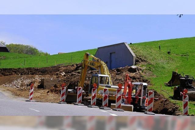 Der Zustand der Dachsberger Straßen ist verheerend