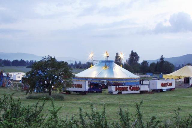Zirkus erstreitet sich sein Gastspiel