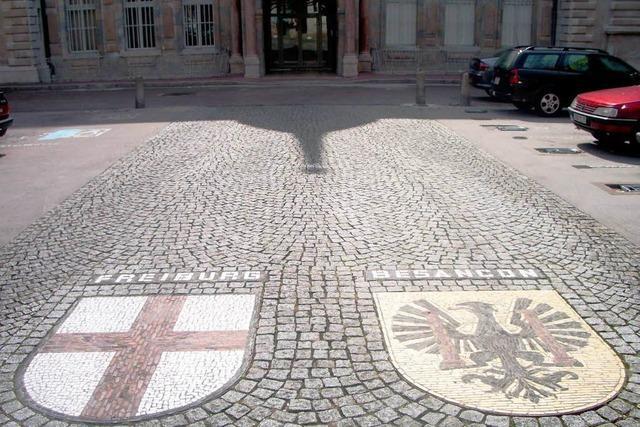 Besançon und Freiburg feiern ihre Städtepartnerschaft