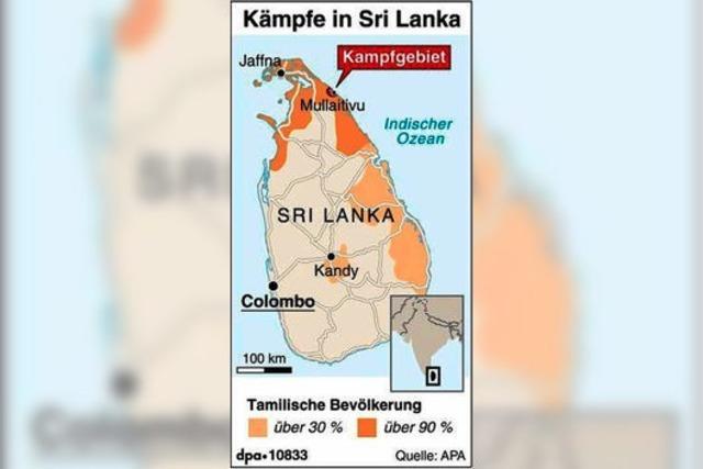 Sri Lanka: Blutiger Sieg nach fast 26 Jahren Bürgerkrieg
