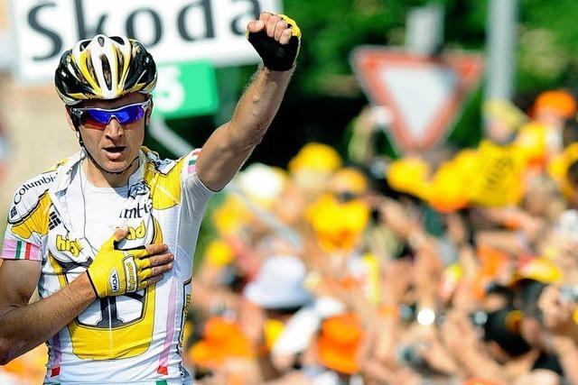 Giro d'Italia: Horrillo-Sturz überschattet achte Etappe