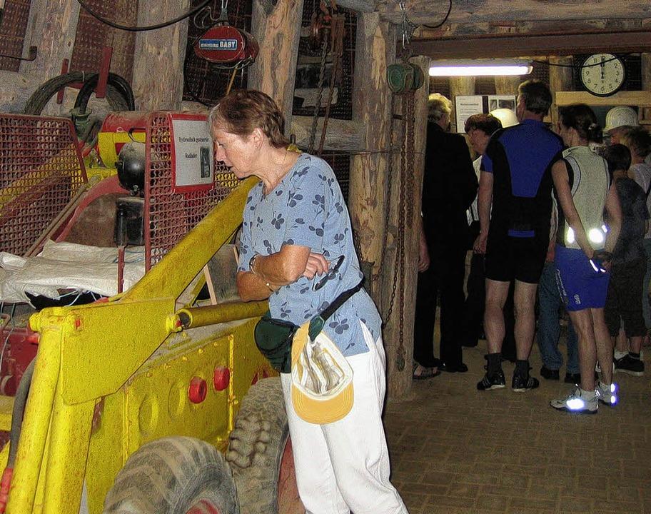 <Bildtext>Viele Besucher nutzten die G... durchs neue  Kali-Museum. </Bildtext>  | Foto: Ingeborg Grziwa