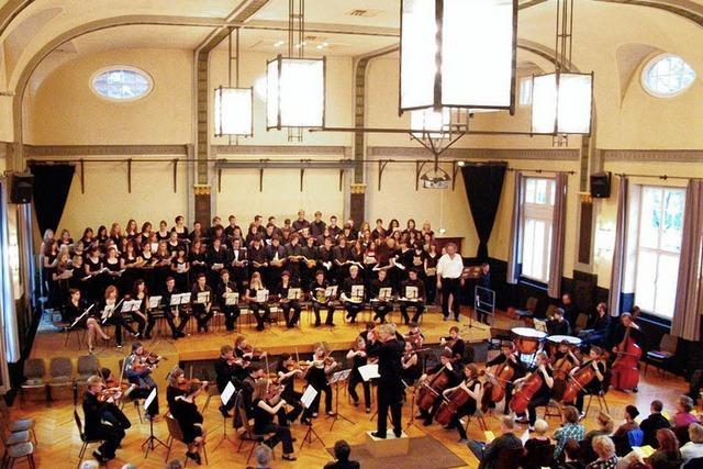 Auftakt zum Schiller-Jahr mit großem Oratorium