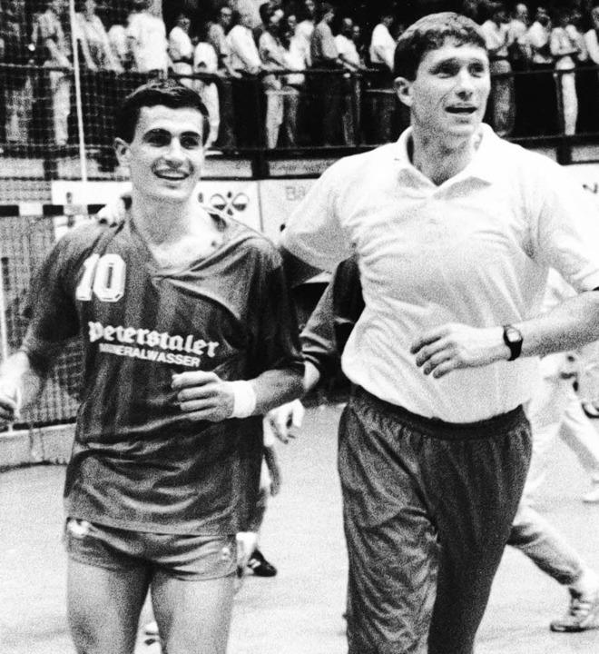 Wolfgang Winter und Armin Emrich (von links)   | Foto: m.heuberger (a)