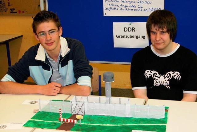 Schüler forschen zum Thema 60 Jahre Bundesrepublik