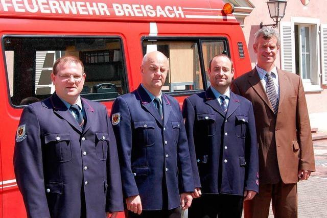 Böhme übernimmt bei der Feuerwehr das Kommando