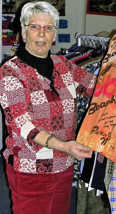 "Ingrid Brunner in ihrem Laden ""Wunderfitz""   | Foto: Claudia Gempp"
