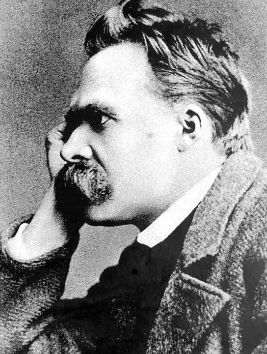 Ein Kritiker der Zeitungssprache: Friedrich Nietzsche  | Foto: dpa