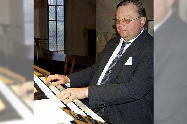 Christoph Lorenz zog alle Register