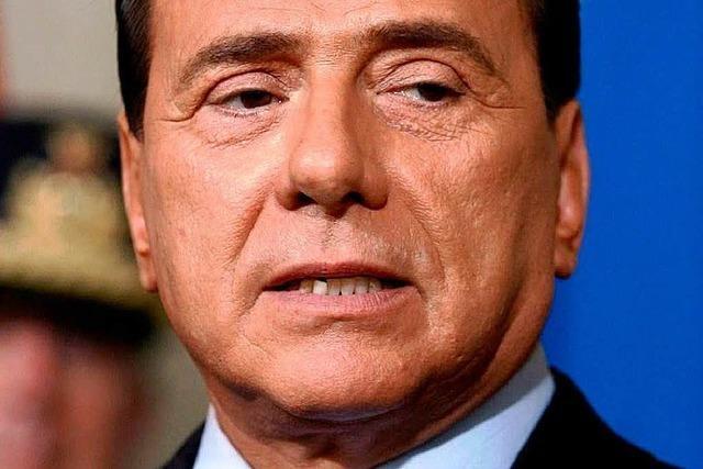 Berlusconi gerät wegen einer Schülerin in Not