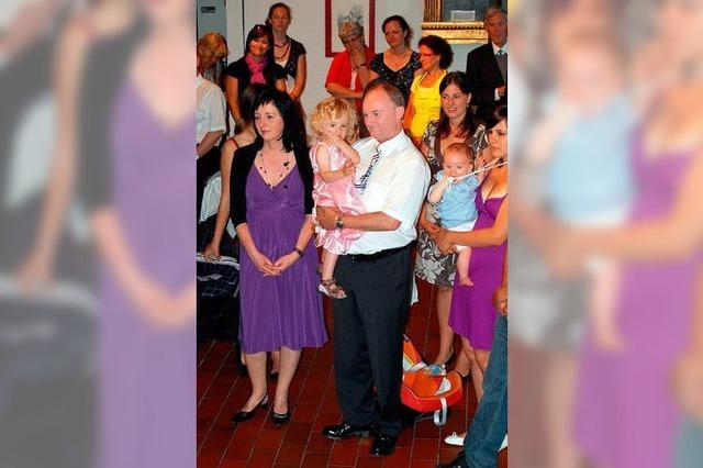 Geburtstagsfeier für Bürgermeister Benz