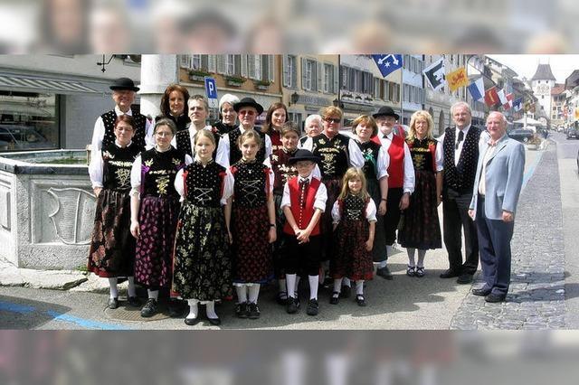Gegenbesuch zum Trachtenfest in Menznau/Schweiz