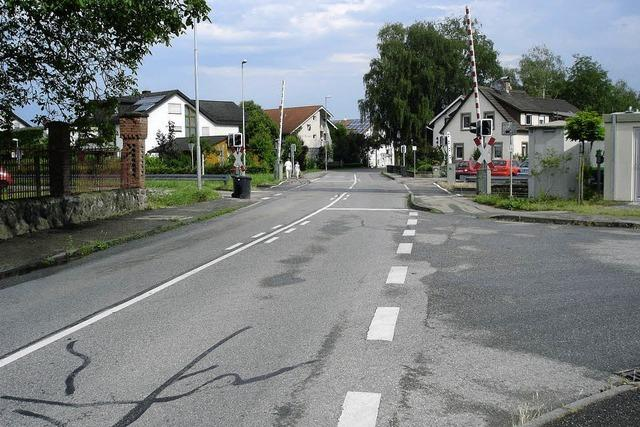 Umleitung in Endingen