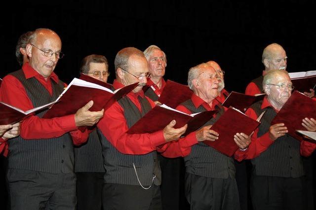 Chöre beweisen Freude am Singen