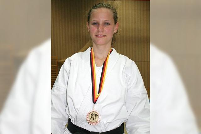 Bronze für Sarah Hertwig