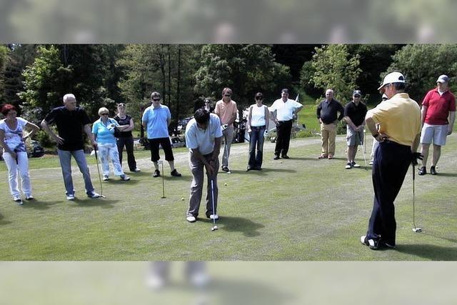 Faszination des Golfsports vermittelt