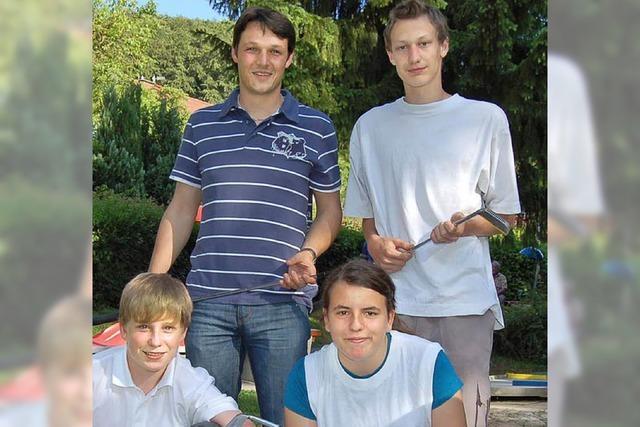 BSV-Jugend in Baden in der Spitze