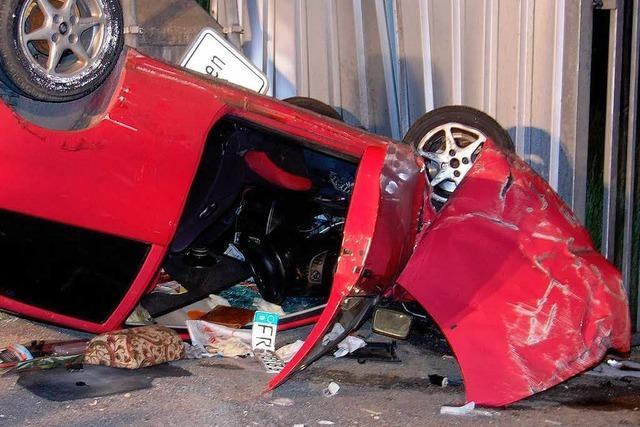 Zwei schwere Unfälle in der Region