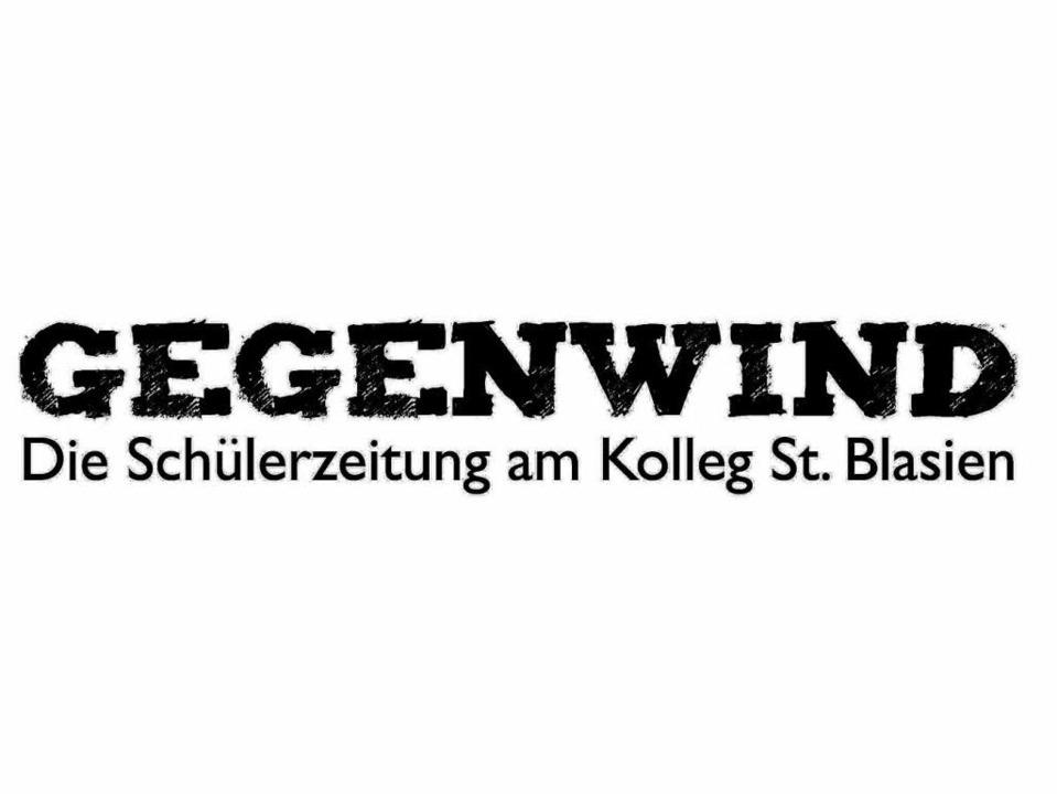 Gegenwind – die Schülerzeitung des Kollegs St. Blasien.  | Foto: BZ