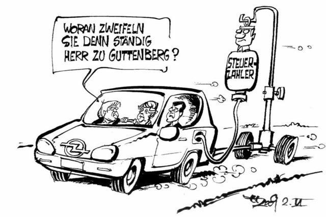 Opel auf dem Wege der Besserung