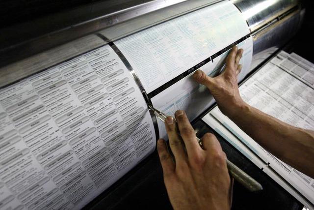 Drucker bekommen erst 2010 mehr Lohn