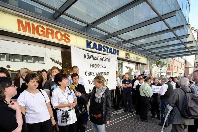 10 .000 Freiburger Unterschriften für Karstadt