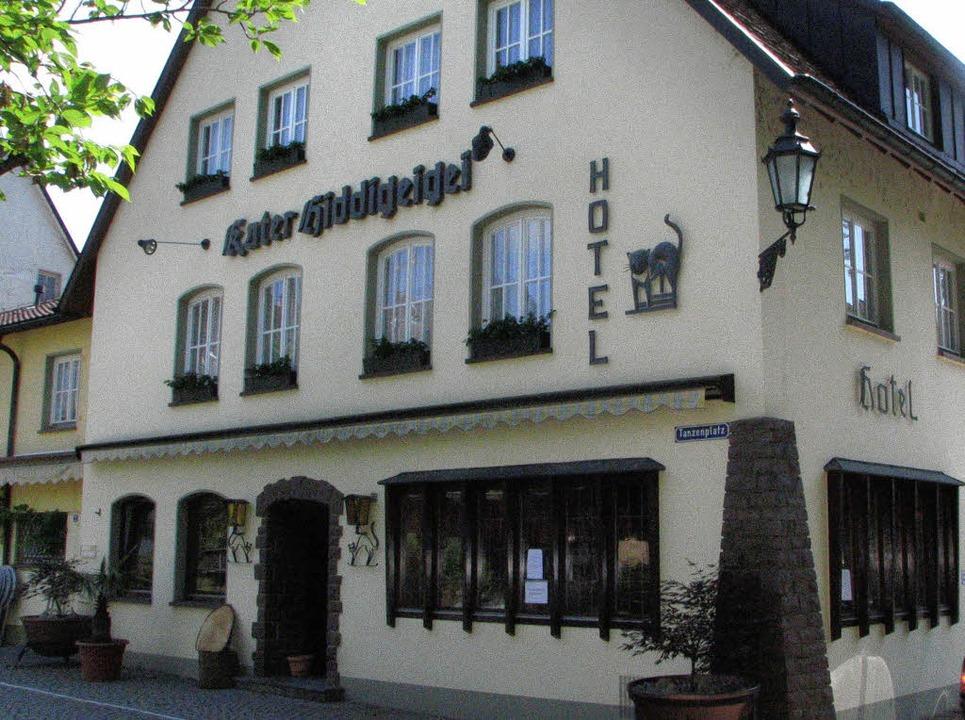 Die Bad Säckinger Traditionsgaststätte...der neuen Führung von Elisabeth Wolf.   | Foto: old