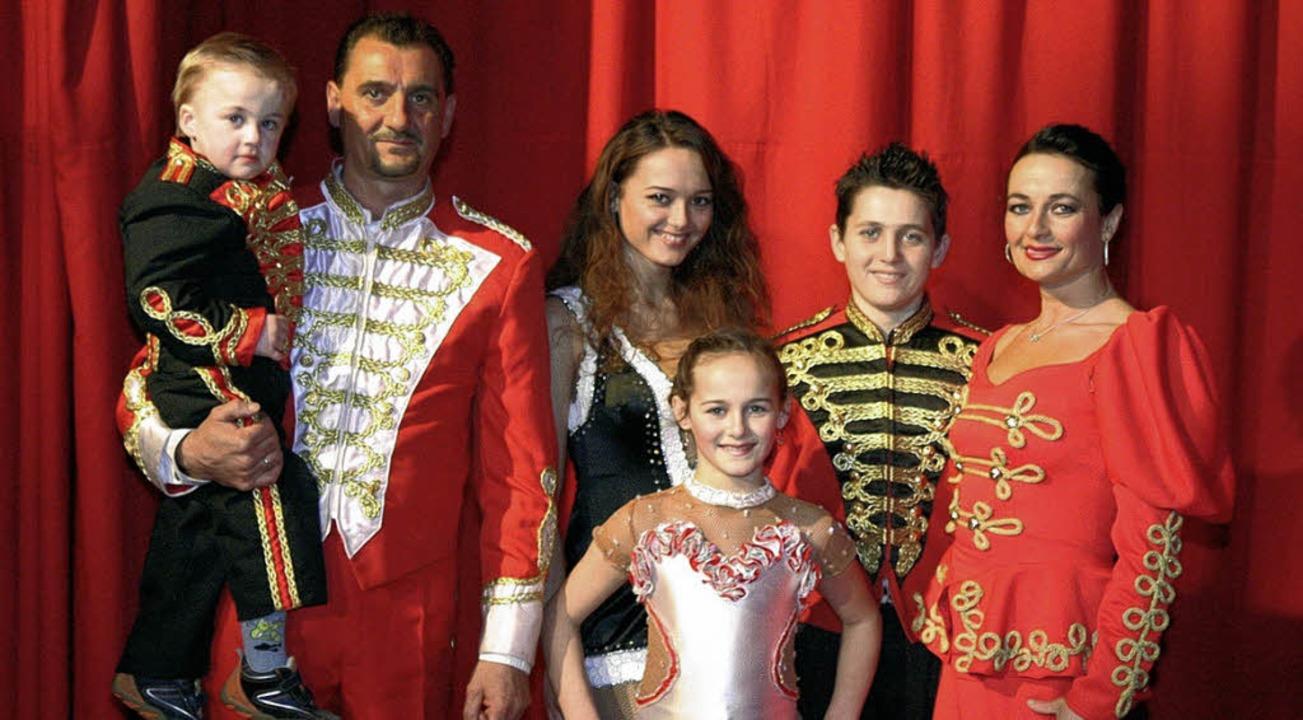 Zirkusfamilie